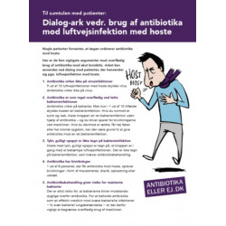 Hoste - antibiotika,  dialogark