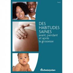 Sunde vaner - før, under og efter graviditet Fransk (E-bog)