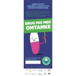 Omtanke - Antibiotika - plakat