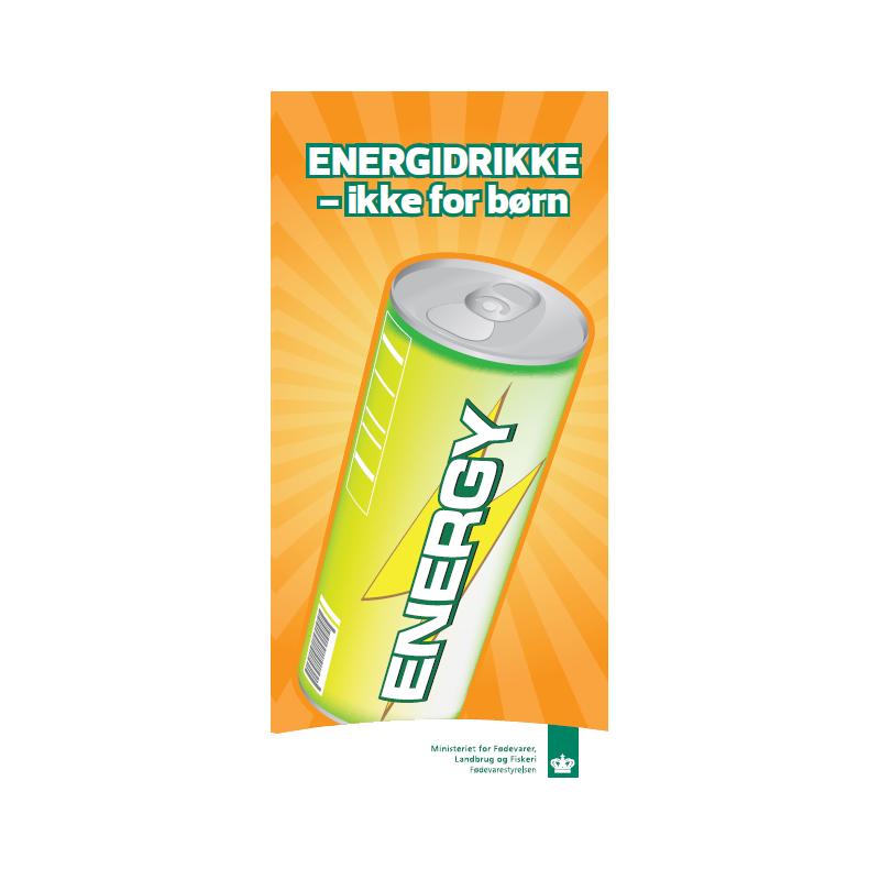 Energidrikke - ikke for børn