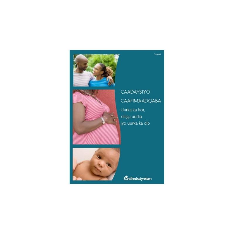 Sunde vaner - før, under og efter graviditet Somalisk (E-bog)