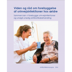 Urinvejsinfektion – antibiotika , folder